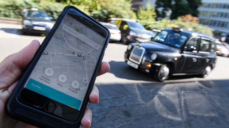 Uber reveals the strange things people leave behind in its cars | UK