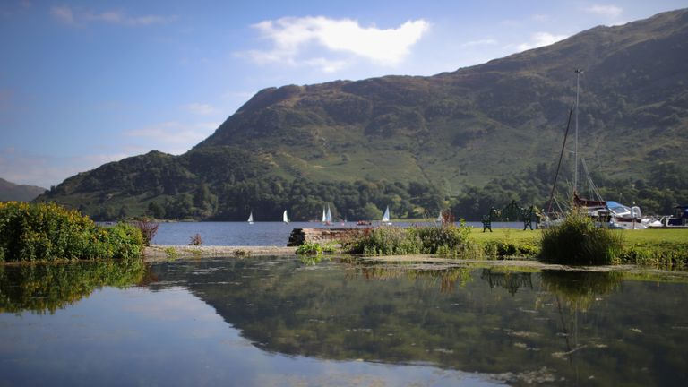 Ullswater in the Lake District is one of the UK's most popular beauty spots