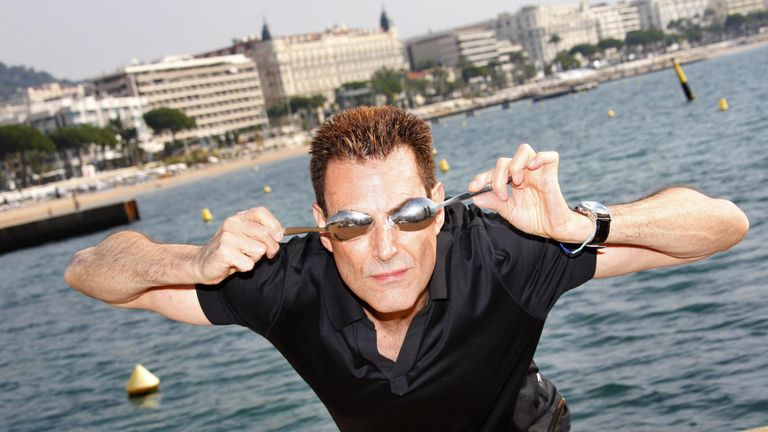 Uri Geller says he predicted that Theresa May would become prime minister