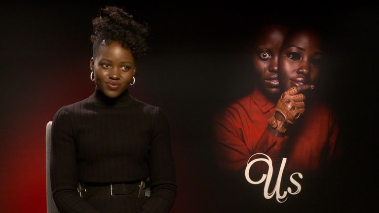 "Lupita Nyong'o says working on Us – Jordan Peele's hotly anticipated follow up to Get Out - allowed her to access her ""dark side""."