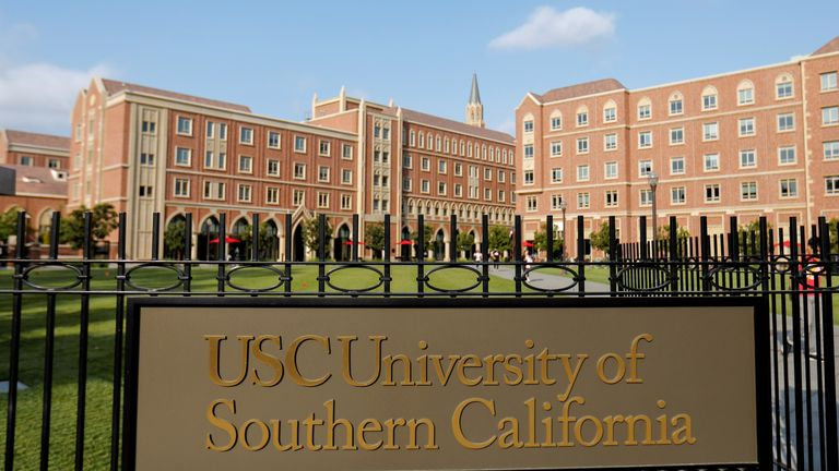 The University of Southern California is pictured in Los Angeles, California, U.S., May 22, 2018