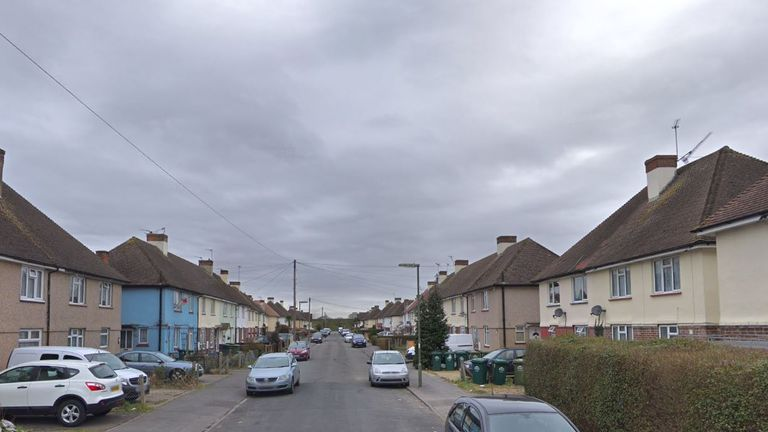 The police received reports that the man was aggressive and shouted racist comments in Stanley