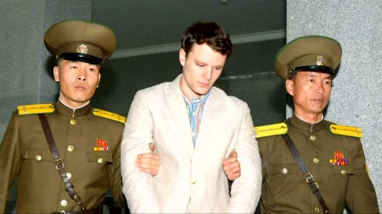 Otto Warmbier was arrested in North Korea for allegedly trying to steal propaganda