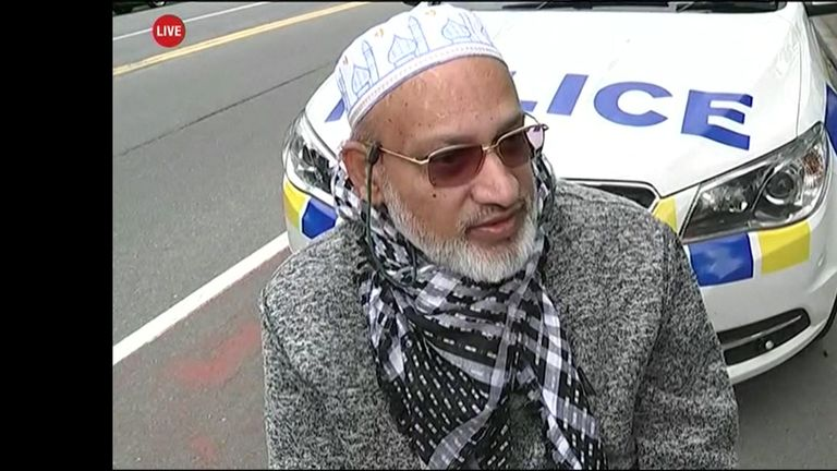 Worshipper describes the scene during a shooting at a mosque in New Zealand