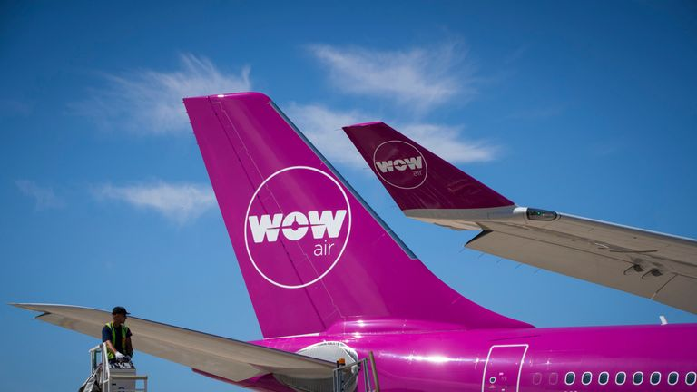 Wow Air started operations in 2012