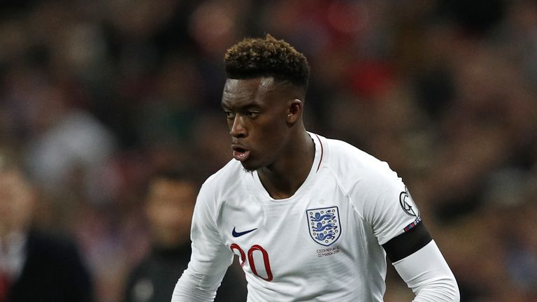0:49                                            Maurizio Sarri has not spoken to Callum Hudson Odoi about the racist abuse he suffered in Montenegro but believes he