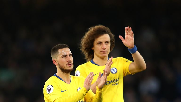 Chelsea defender David Luiz wants Eden Hazard to stay at the club, but says the players must respect his decision whatever that may be