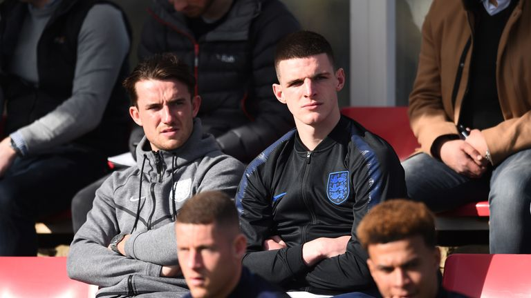 England manager Gareth Southgate defends Declan Rice over pro-IRA posts