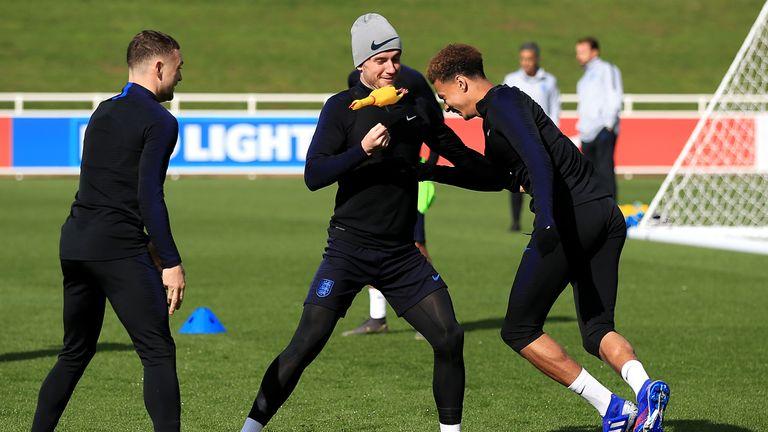 WATCH: England's rubber chicken returns | Football News |