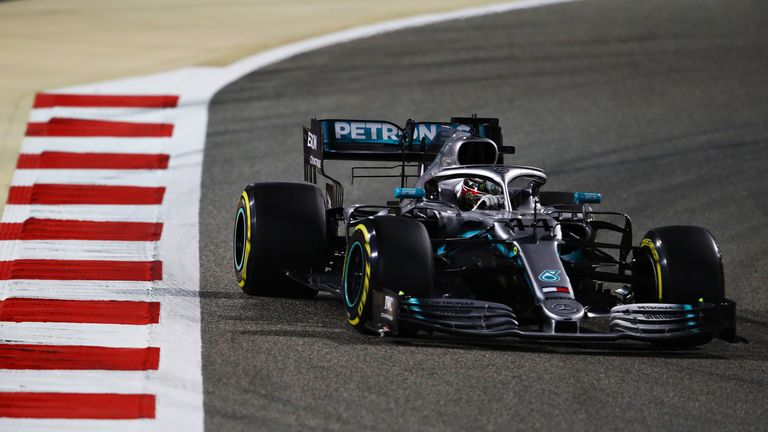 e432f3c5654 Bahrain GP  Lewis Hamilton consoles luckless Charles Leclerc