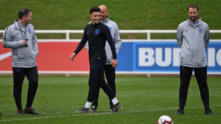 Raheem Sterling Had To Mark Jadon Sancho In Man City Training