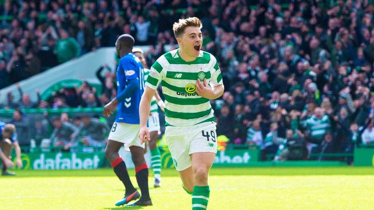 Celtic's James Forrest and Callum McGregor have been nominated for Scotland's Player of the Year