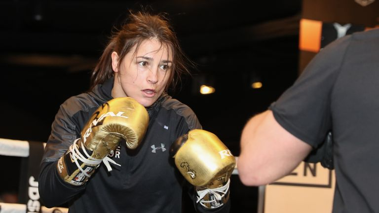Carroll vs Farmer: Katie Taylor hopes to be remembered as the world's best female fighter of 'all time' | Boxing News |