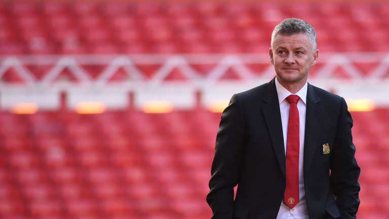 Solskjaer admits he has a 'couple of players' in mind to succeed Antonio Valencia as United's club captain next season