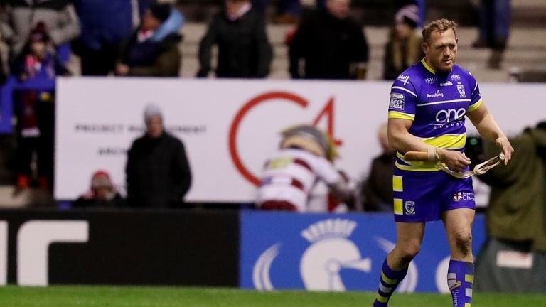 Ben Westwood handed four-match ban after red card in Warrington's win over Wigan   Rugby League News  