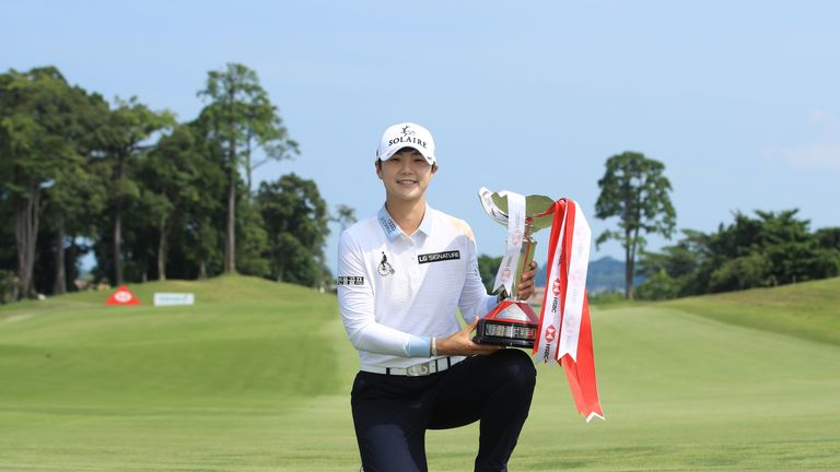 Korea's Park storms past field to win World Championship