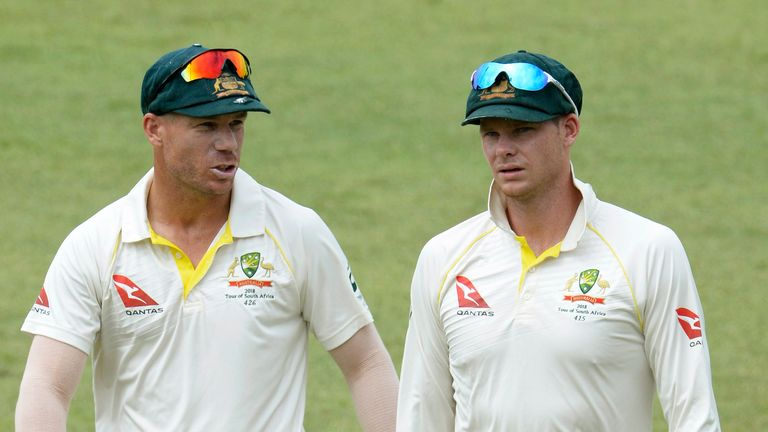 'Hugs and cuddles' greet Steve Smith, David Warner in Australia return