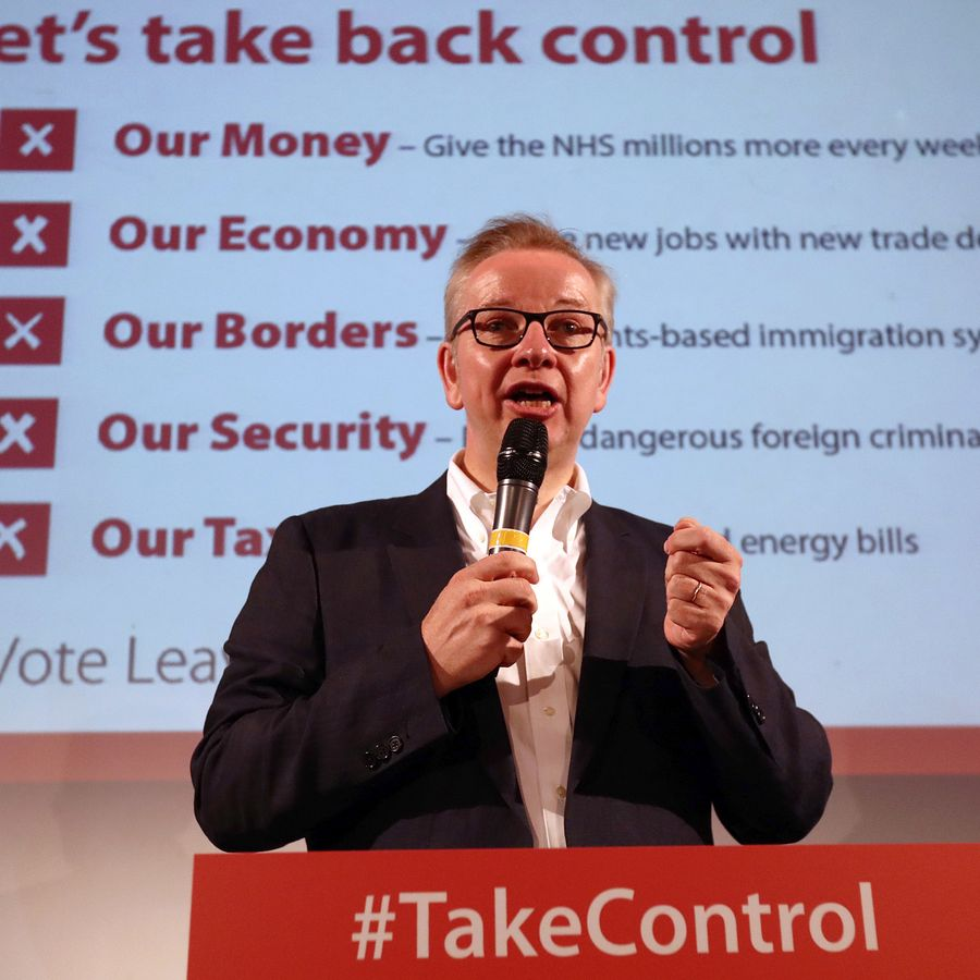 Many leave campaigners, such as Michael Gove, promised the UK would leave with a deal