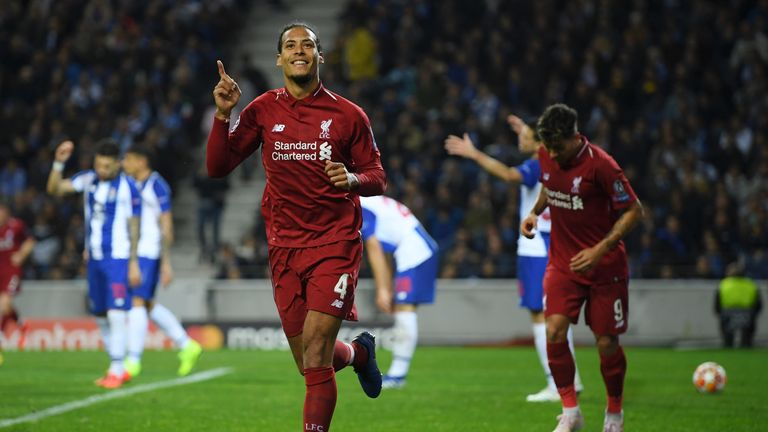 King outlines the reasons as to why he rates Van Dijk