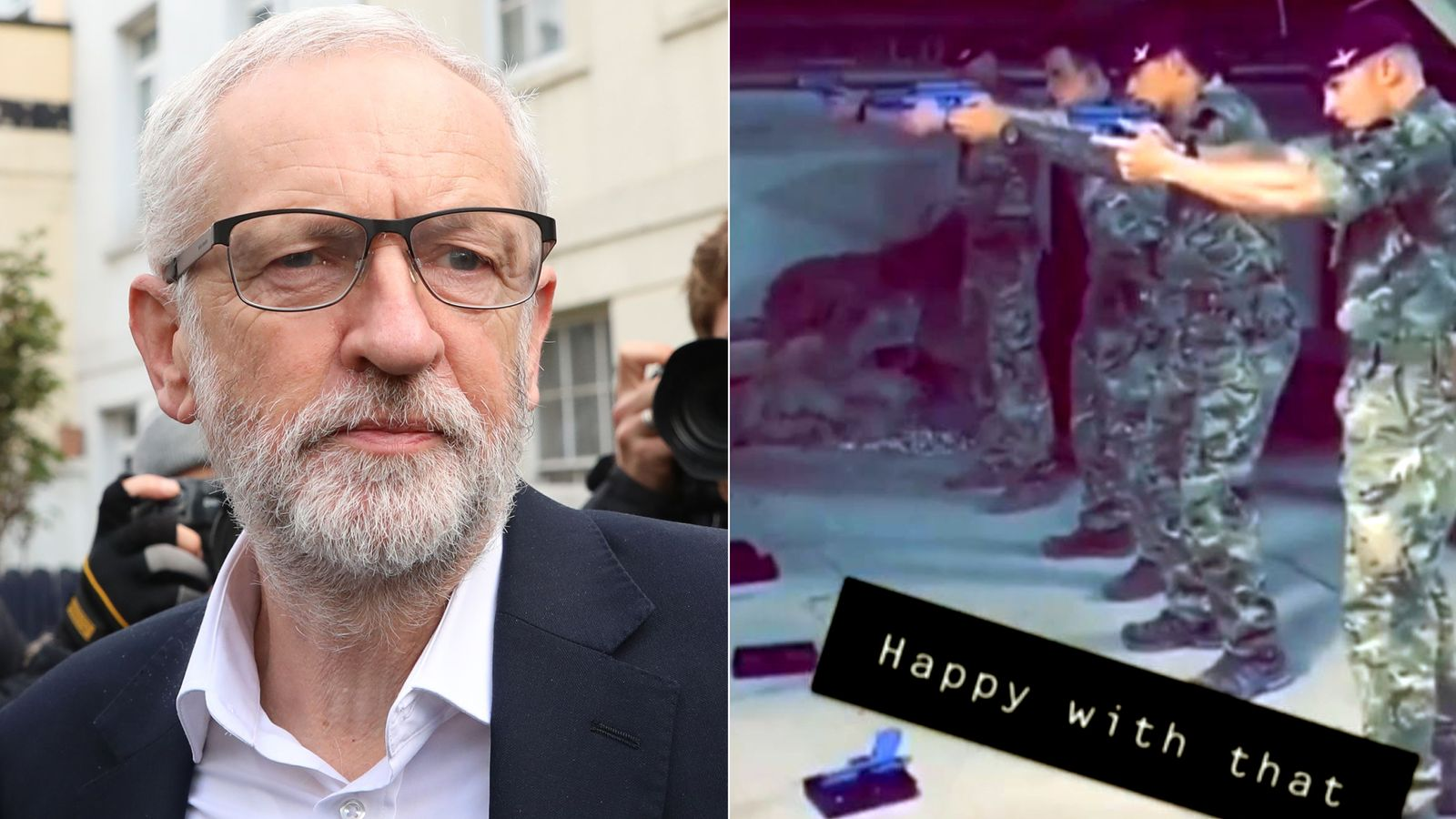 Soldiers disciplined after using picture of Corbyn for target practice