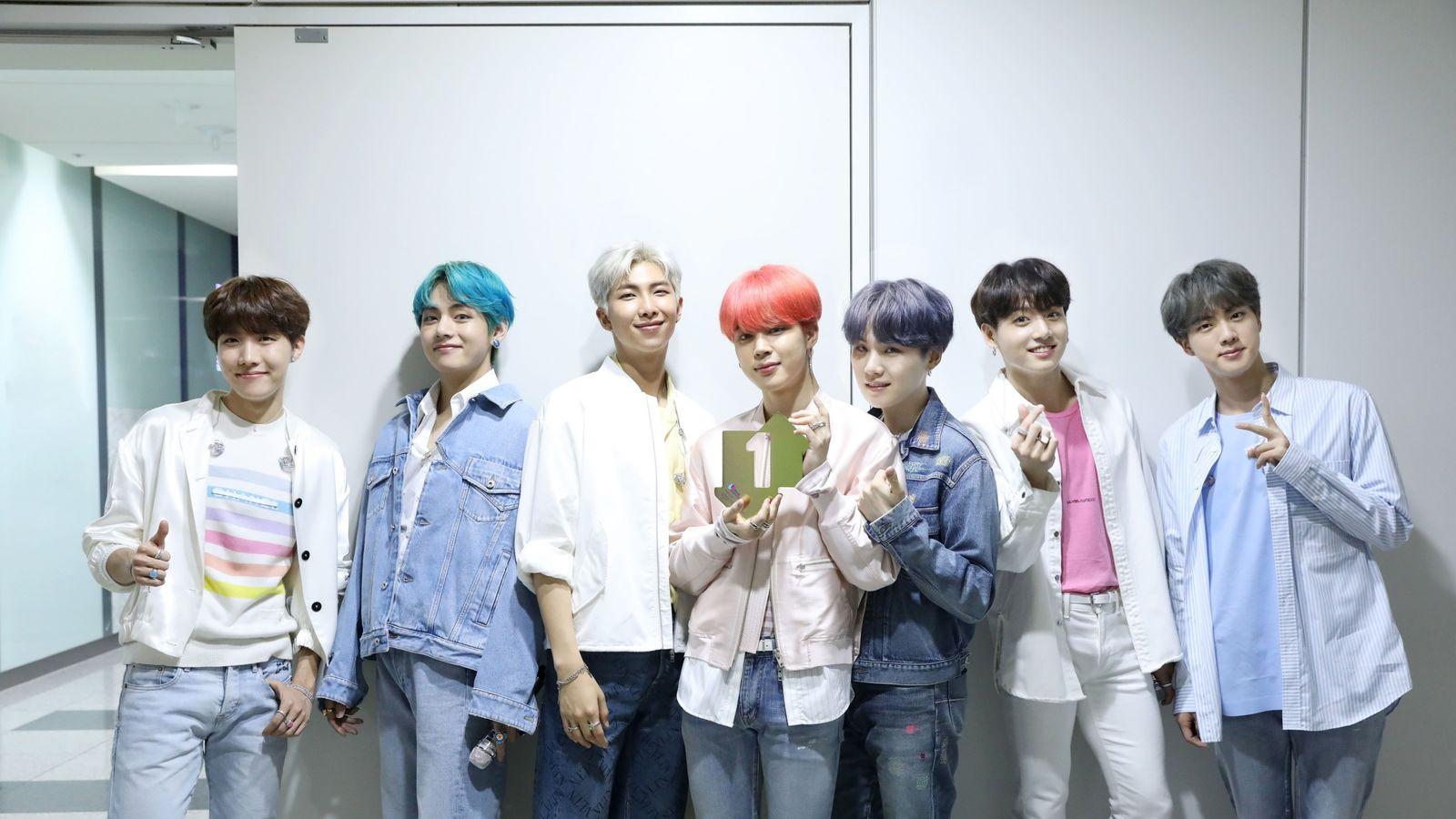 K-pop stars BTS hit number one spot in UK album chart