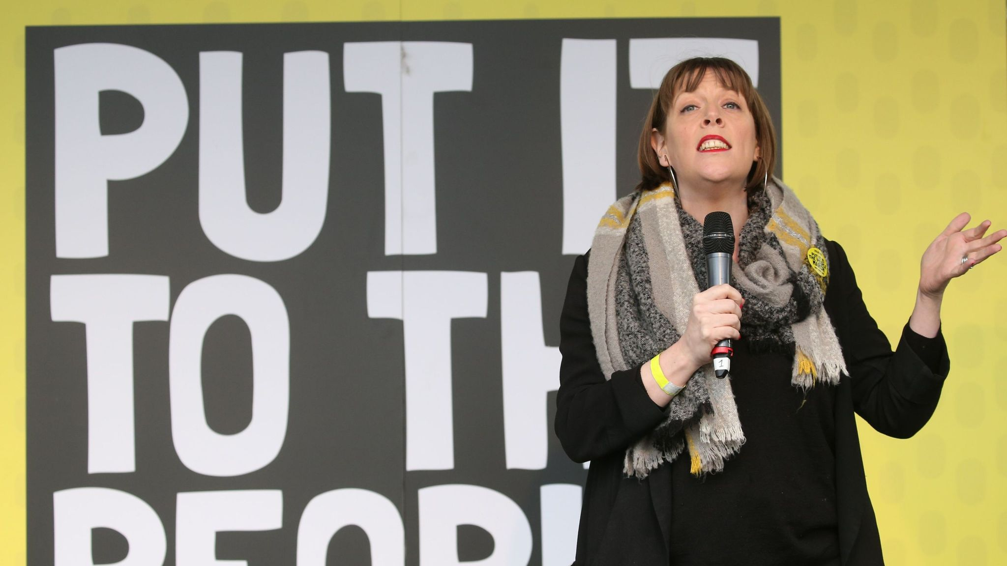 Jess Phillips: Man held after 'smacking windows' of MP's office and shouting 'fascist'