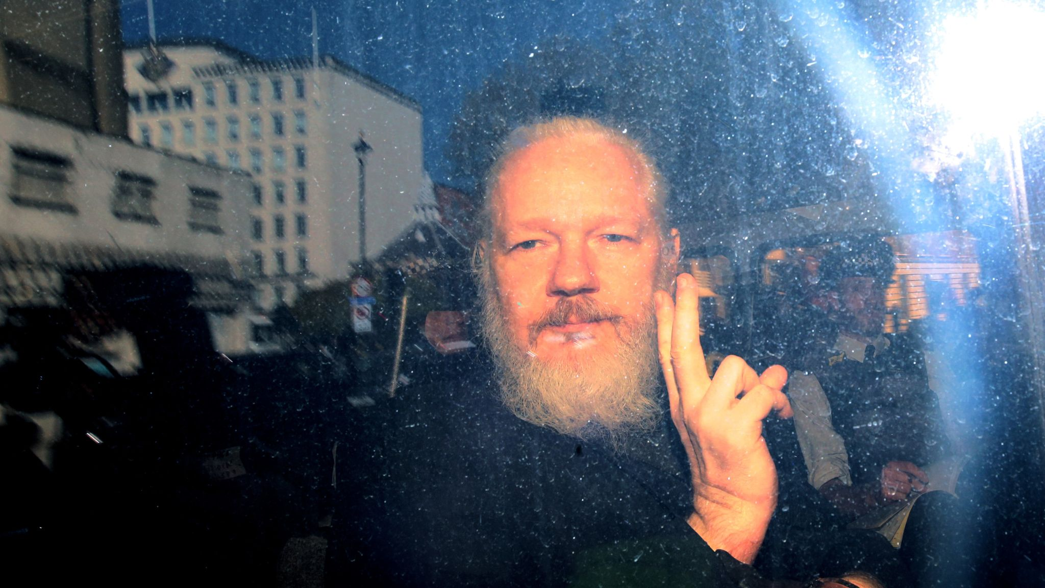 Julian Assange 'moved to medical wing' in Belmarsh prison over 'significantly deteriorated' health