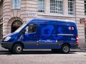 The cash was stolen from a G4S van. File pic