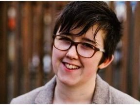 Lyra McKee was shot dead as she covered riots in Londonderry