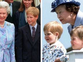 Prince Harry shared a series of throwbacks to mark the Queen's 93rd birthday