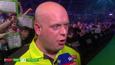 Breathtaking from Van Gerwen