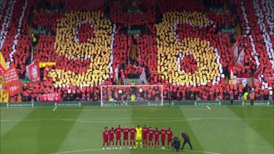 Anfield pays tribute