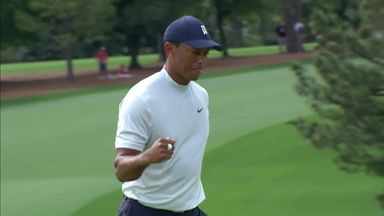 Tiger's second-round birdies