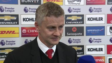 Solskjaer: We got a reaction