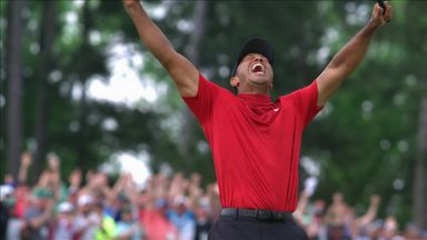 Woods reflects on fifth Masters win