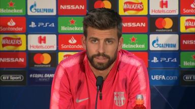 Pique: Solskjaer helped me a lot