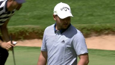 Smith grabs lead in Morocco