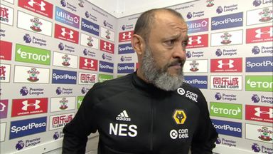 Nuno: Southampton were better team