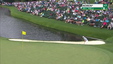 Noren chips in from the bunker