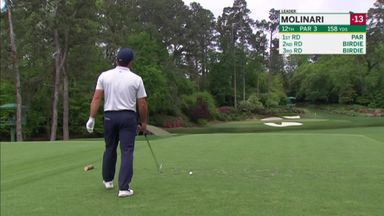 Molinari finds the water