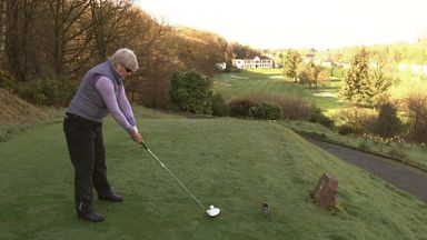 'Golf helped my recovery'