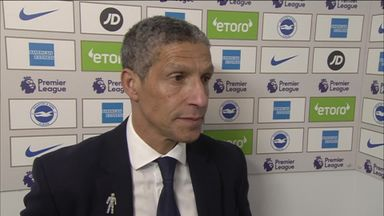 Hughton: We didn't show our quality
