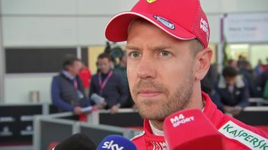 Vettel hopes Ferrari make Mercedes crack