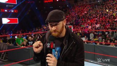 Zayn is sickened by the WWE Universe
