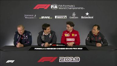 Chinese GP: Team principals' presser