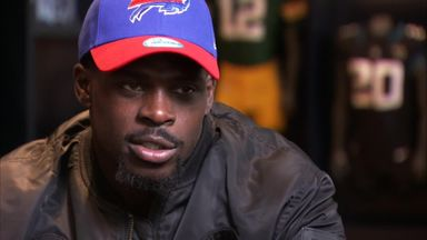Wade fighting back tears after NFL switch