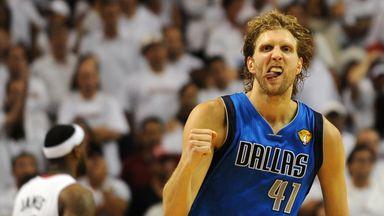 Dirk's three favourite NBA moments