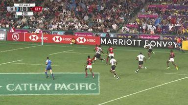 Fiji score stunner in Hong Kong