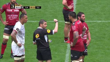 Fresia sees red for Toulon