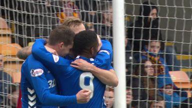 Motherwell 0-3 Rangers